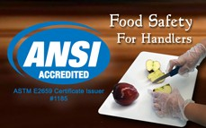 Food Safety for Handlers Online Training & Certification